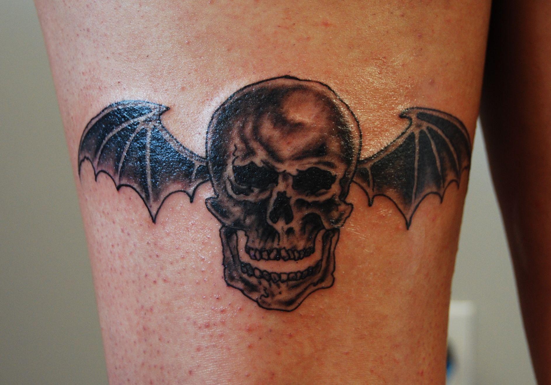 Av av avenged sevenfold tattoo designs - Avenged Sevenfold Logo